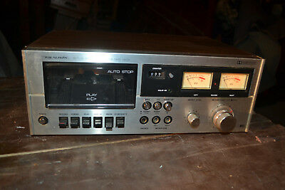 Realistic sct-15 Stereo Cassette Tape Deck Vintage 14-602