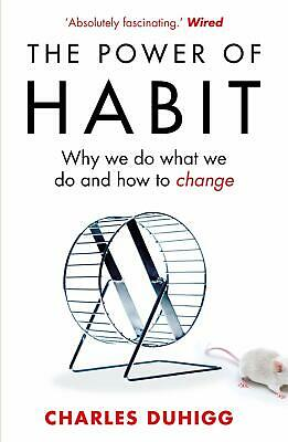 The Power of Habit by Charles Duhigg Paperback Book