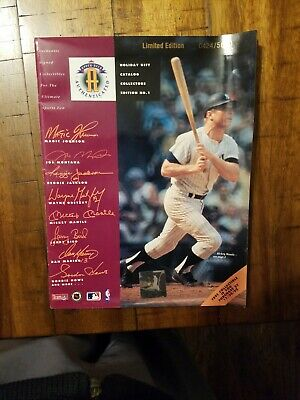 1992 Upper Deck Holiday Catalog - Limited edition #0424/5000 Very good