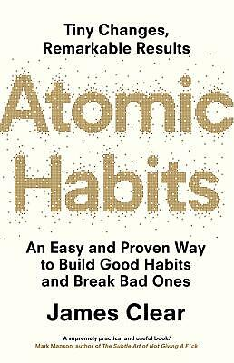 Atomic Habits by James Clear Paperback Book