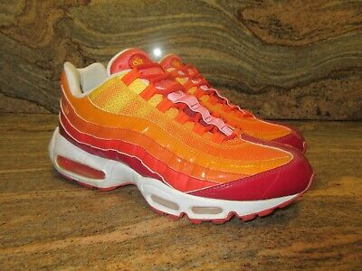 2006 NIKE AIR Max 95 SZ 9 Fantastic Four Human Torch Orange