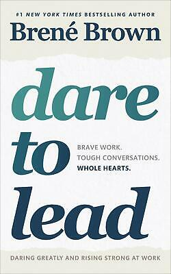 Dare to Lead by Brene Brown Paperback Book