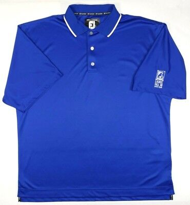 FootJoy FJ Mens XL ProDry Superlite Short Sleeve Polo Blue Laurel Hill Golf Club