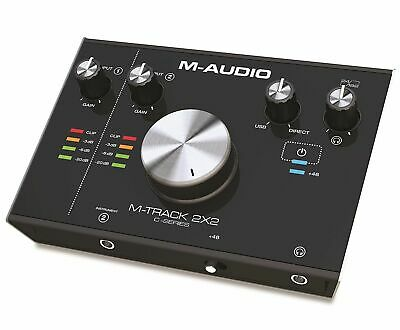 M-AUDIO M-TRACK 2x2 Alta Resolución Amplificador /