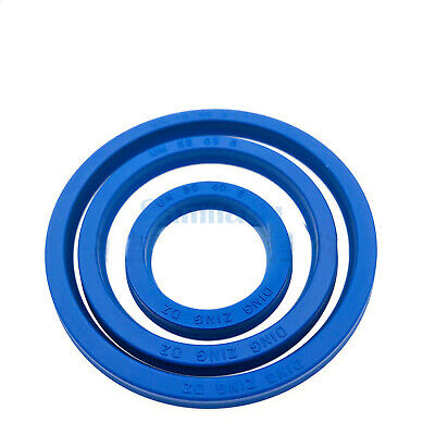 2 PCS 4-14mm PU Rod Seal Hydraulic U-Cup UN-Type For Hydraulic Piston Cylinder