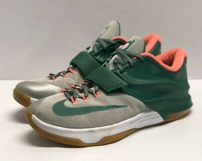 huge selection of cd888 d8e6b NIKE KD 7 VII Easy Money Sniper Mystic Green 653996 Size 12 Mens sneakers  Durant