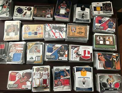 NBA Basketball LOT Auto Patch Game-Used Memorabilia Relic Prizm Rookie Insert