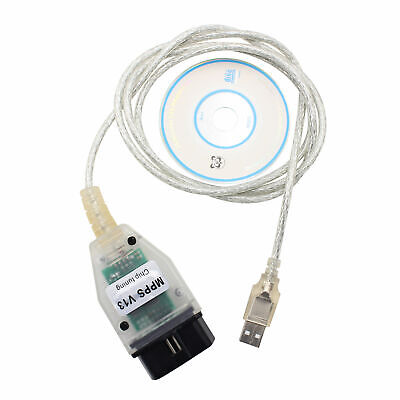 SMPS MPPS V13.02 K+CAN CAN Flasher Chip-Tuning OBD2 Connector For Alfa Romeo