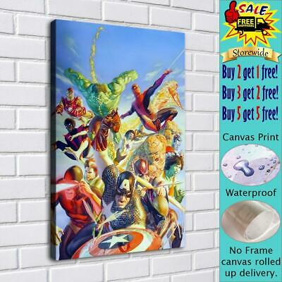 """Marvel Comics HD Canvas print Painting Home Decor Room Picture Wall art 16""""x24"""""""