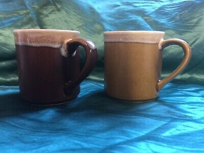 Vintage/Retro Coffee Mugs x 2