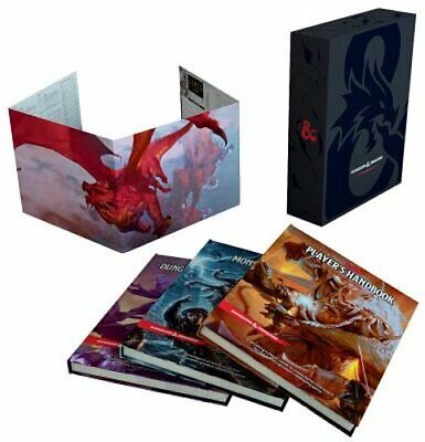 Dungeons & Dragons Core Rulebooks Gift Set (Special Foil Covers Edition with