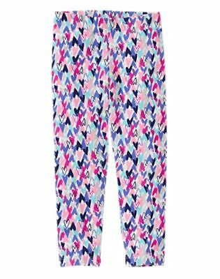 NWT Gymboree Leggings Colorful  Heart Girls  SZ 2T,10/12