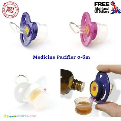 Baby Dummy Pacifier Liquid Medicine Feeding Dispenser Soother 0-6 month NumiMed