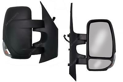 Renault Master 2003-2010 Door Mirror Manual Black Short Arm Pair Left /& Right