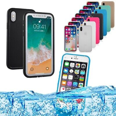 New Life Waterproof Shock/Dust/Snow Proof Case Cover iPhone X Xs Max XR 8 7 Plus