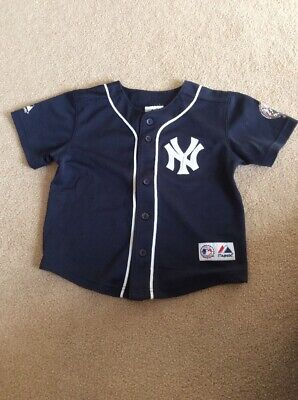 ab6adc4a9 GENUINE MERCHANDISE NY Yankees Derek Jeter Jersey YOUTH SMALL 8 ...