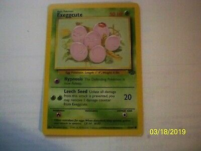 Pokemon Jungle Common Card #52//64 Exeggcute