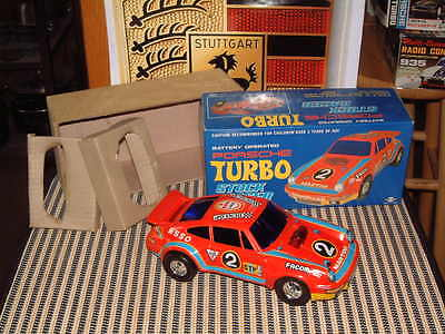 Electronic, Battery & Wind-up Battery Operated New Orderly Mystery Bump And Go Police Car