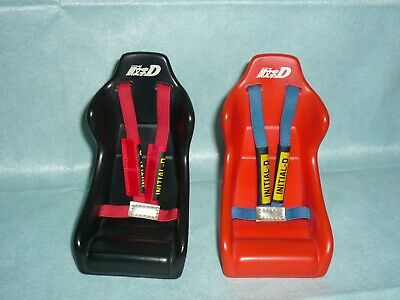 INITIAL D Bucket seat Mobile stand Black & Red 2set