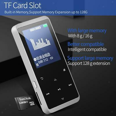 Lettore MP3 con Bluetooth 4.1 Memoria Flash incorporata da 16 GB Moonlight