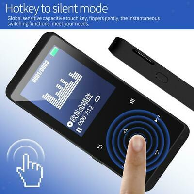 Lettore MP3 Bluetooth da 16 GB con scheda TF touch screen fino a 128 GB di