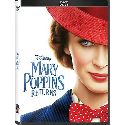 Mary Poppins Returns: DVD 2019 (Disc Only) (Fast Free Shipping)