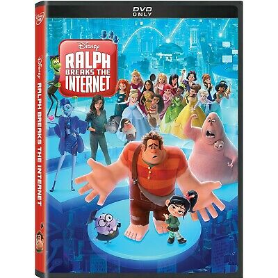 Ralph Breaks The Internet: DVD 2019 (Disc Only)  (Free Fast Shipping)