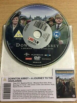 Downton Abbey - A Journey To The Highlands (DVD, 2012) DISC ONLY
