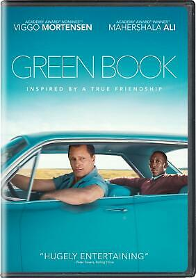 Green Book: DVD 2019 (Disc Only)  (Free Fast Shipping)