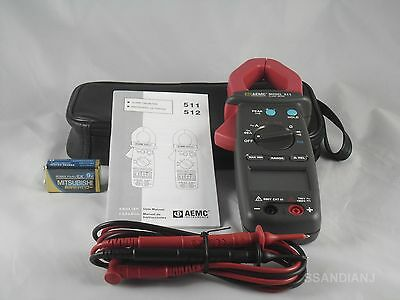 AEMC 511 Clamp-On Meter 750V AC, 1000V DC, 1000A AC Current 4000 Ohms Resistance