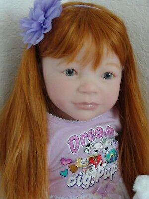 "Big 30"" Reborn ""Realborn""Toddler Girl Doll ""Emmy"" -Full Limbs!"