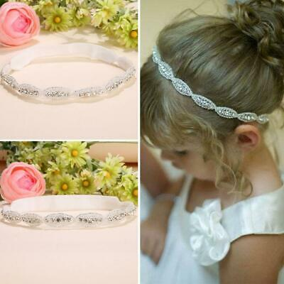 Children Baby Infant Princess Flower Girl Rhinestone Hair Band Headband LEBB 01