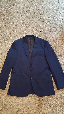 J. Crew Crosby Suit Jacket in Italian Chino - Admiral Blue - Size 40R - NWT