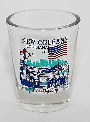 New Orleans Louisiana Great American Cities Collection Shot Glass Shotglass