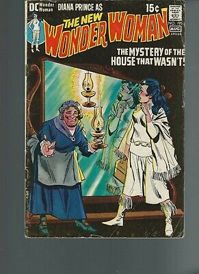 Wonder Woman #195 (DC 1971) VG/FN 5.0 15 cent cover