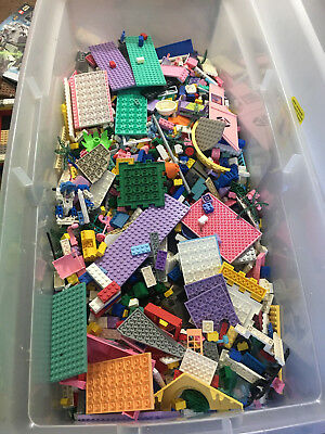2 Pounds LBS LEGO Bulk LOT - Multiple Pieces & Different Types of Bricks! Age 3+