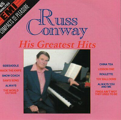 Russ Conway - Compacts for Pleasure [CD Album]