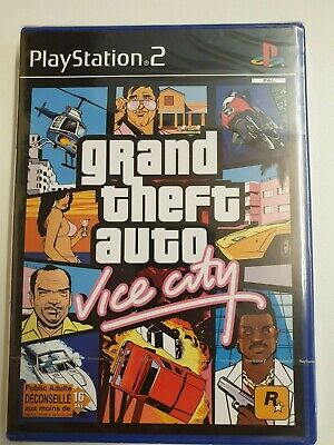 Grand Theft Auto - GTA Vice City (PS2) - Francais Edition [Brand New and Sealed]