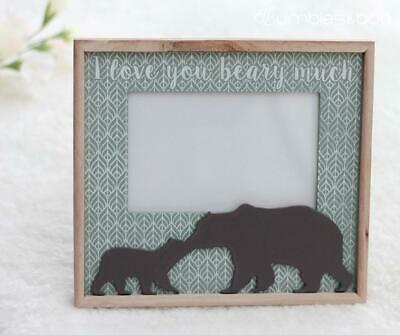 Baby Bear Wooden Picture Photo Frame | FREE Delivery