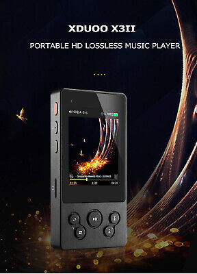 XDuoo X3II 2.4'' Portable HIFI HD Lossless Music Player DSD128 32Bit / 384KHz
