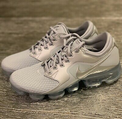 79f2453f238 NIKE AIR VAPORMAX Wolf Grey Silver Size 6.5 Running Womens Sneakers ...