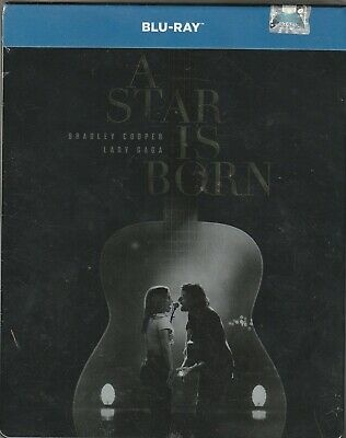 A Star Is Born (2018) BLU-RAY STEELBOOK NEW AUDIO: ENGLISH CZECH POLISH RUSSIAN