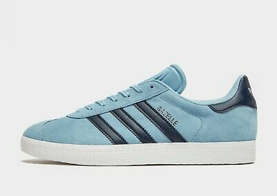 Latest Adidas Original Gazelle Men's Trainer (UK 10.5/EUR 45.5)-Blue COLOUR BNIB