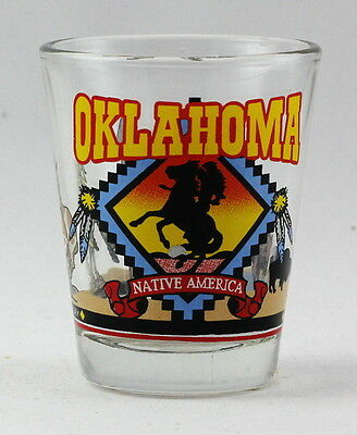 Oklahoma State Graphic Design Shot Glass Rtp