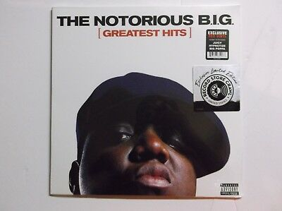 The Notorious B.I.G Greatest Hits RSC 2018 Exclusive NEW Red Vinyl LP Rap Biggie