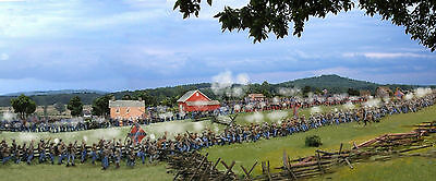 Gettysburg Barksdale's Magnificent Charge canvas Print/Frame Civil War