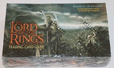 Lord of the Rings TCG, Realm of the Elf-Lords Booster Box 36-Pack SEALED