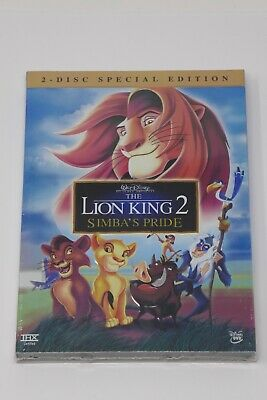 Walt Disney The Lion King 2: Simbas Pride(DVD, 2004, 2-Disc Special Set) SEALED