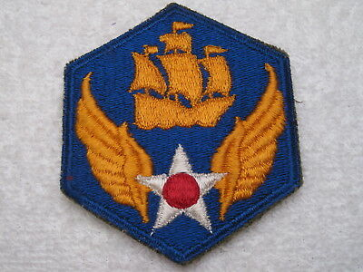 Ww Ii 6Th Us Army Air Corps Patch Authentic Original & 100 % Real Deal !!