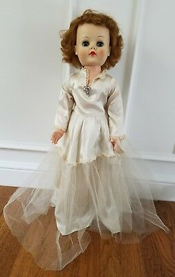 Puppen Spielzeug Vintage Michele Malpica Theresa Bride Wedding 27 Doll Artist Original Sign OOAK